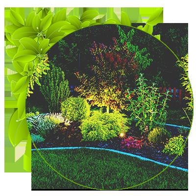 نورپردازی در طراحی باغ