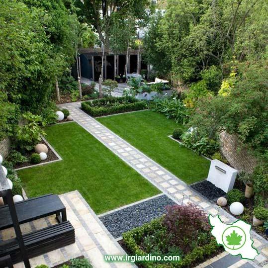 فضای سبز مدرن