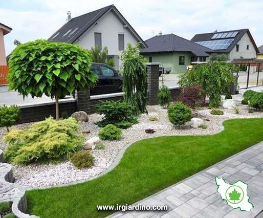 اجرای فضای سبز مسکونی
