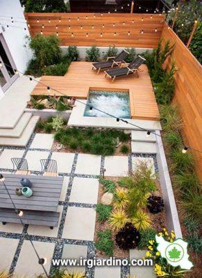 طراحی باغچه مینیمال