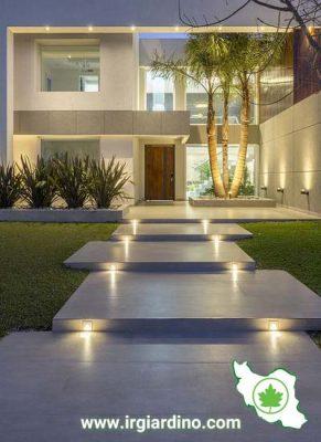 نورپردازی پله ها
