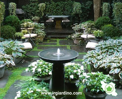 آبنما در طراحی باغ