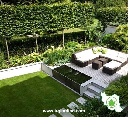 ایده طراحی و اجرای فضای سبز