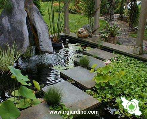 زیباسازی باغ