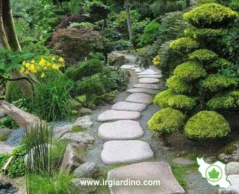 طراحی مسیر باغ