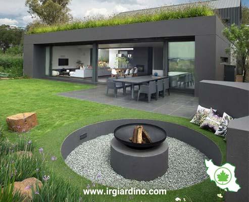 طراحی آلاچیق باغ