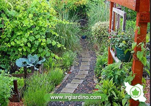 طراحی فضای سبز سنتی