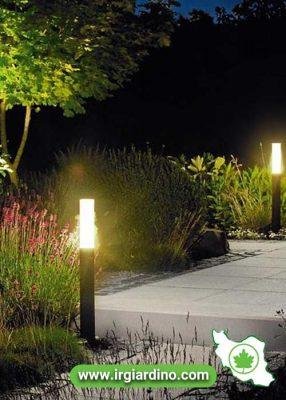 رنگ نور در طراحی فضای سبز