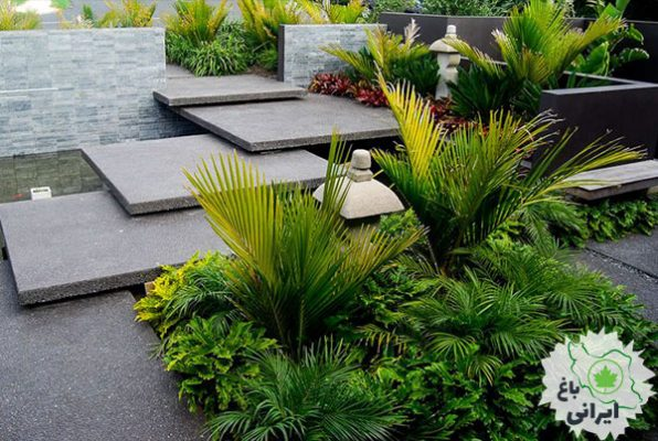 طراحی ورودی باغ ویلا